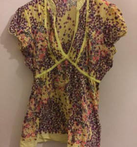 Летняя хлопковая блуза