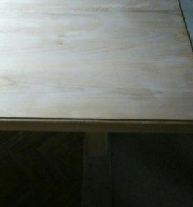 Столы и стулья из массива дерева ручная табота