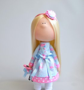 Текстильная кукла!