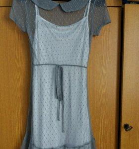 Новое кружевное платье 40-42
