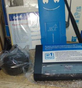 Модем ADSL2+ Zyxel P660HTW EE