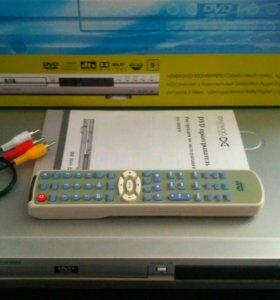 Караоке DVD плеер DAEWOO DV-500ES. Полный комплект