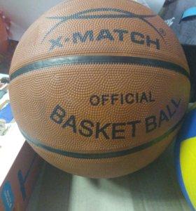 Новые мячи баскетбольные