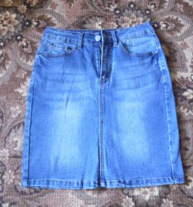 новая джинсовая юбка