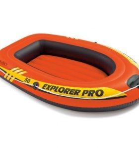 """Надувная лодка """"Explorer 50 Pro"""", 137х85х23см"""