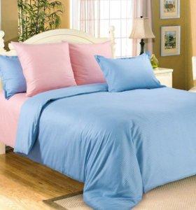 Комплект постельного белья однотонного