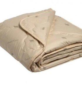 Одеяло облегченное. (Бамбук, верблюжая шерсть)
