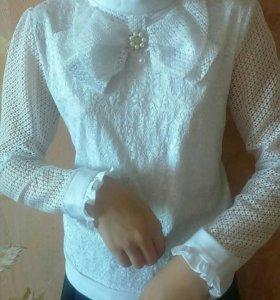 Блузки для школы