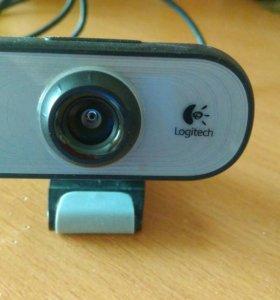 Веб-камера Logitech Webcam C100 модель V-U0013