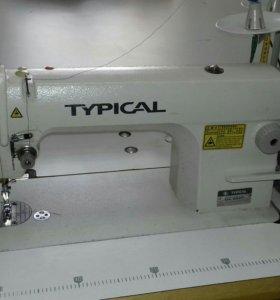 Швейная машина, высокоскоростная.