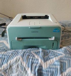 Лазерный принтер samsung ml-1510 + монитор