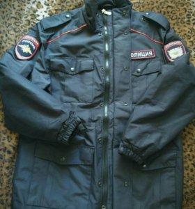 Демисезонная куртка полиции новая
