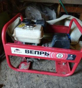 Бензиновый генератор Вепрь 2.2