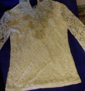 Женская ожурная стильная блузка