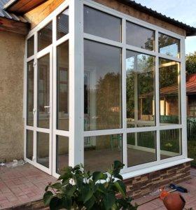 Пластиковые окна и натяжные потолки
