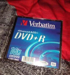 Диск Verbatim dvd+r и dvd-r