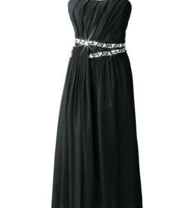 Платье, новое, вечернее, чёрное