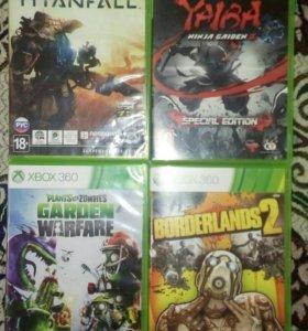 5 дисков на Xbox 360