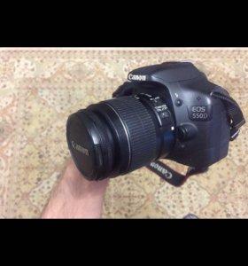 Фотоаппарат Canon 550D EF-S 18-55 IS II KIT