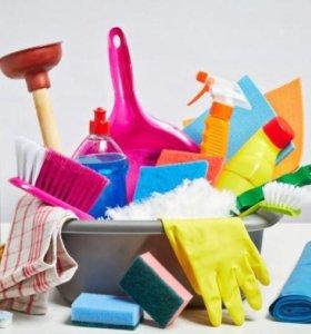 Уборка, мытье окон и балконов