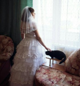 Свадебное прекрасное платья