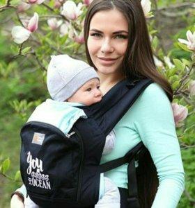 Эрго-рюкзак Love&carry + накладки для сосания