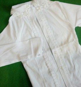 Блуза школьная!