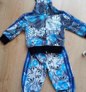 спортивный костюм Адидас 80 размер