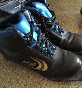 """Лыжные ботинки, в хорошем состояние,""""."""