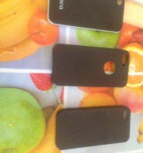 Чехлы для iPhone 4 и 2 для 5