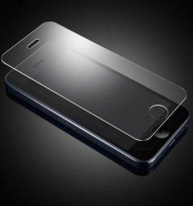 Защитное стекло на iPhone 4 5 S 6 7 8 plus Х