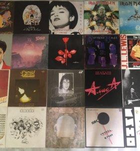 Большая коллекция Виниловых пластинок