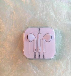 Наушники EarPods новые оригинал