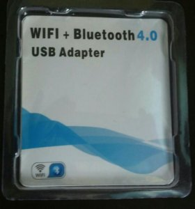 WIFI+BLuetooth 4.0 USB Adapter.