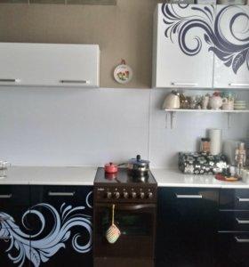 Кухонный гарнитур с мойкой и плитой