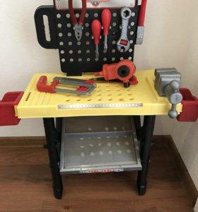 Мастерская,набор инструментов для мальчиков