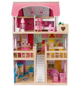 Кукольный дом Edufun с мебелью 90 см