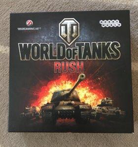 """настольная игра world of tanks rush """"hobby world"""""""
