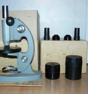 Микроскоп мбу-4а в футляре