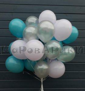 Воздушные шары с гелием (летающие) Доставка на дом