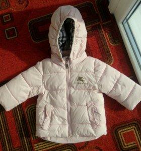 Куртка для девочки 6-12 месяцев