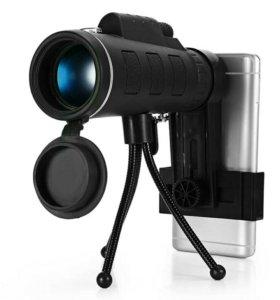 Монокуляр BAK4 телескоп HD 40х60 новый