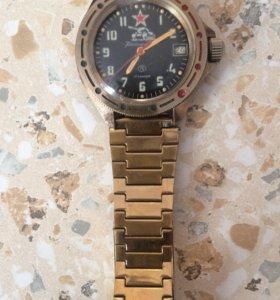 Часы командирские с браслетом