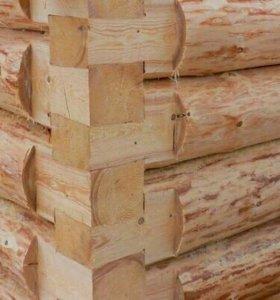 Сруб для бани 3×3, 3×5