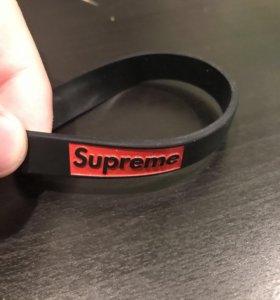 Резиновый браслет Supreme, Champion