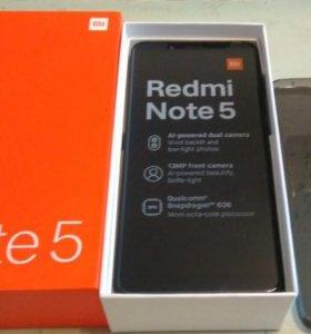 Xiaomi Redmi Note 5 (636), 3/32, black, новый