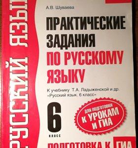 Практические задания по русскому языку 6 класс