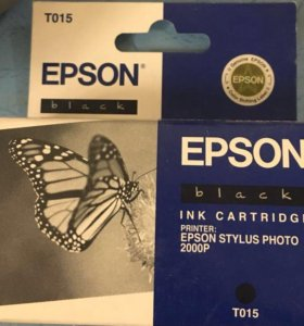 Картридж EPSON Т 015 новый