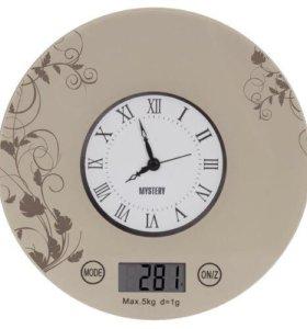 Новые кухонные весы и часы