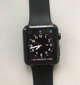 Часы Apple Watch из стали